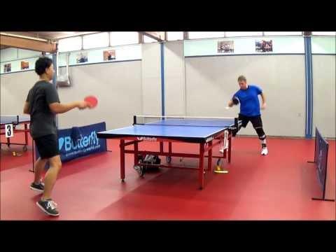 Summer of 2013 Table Tennis highlight reel