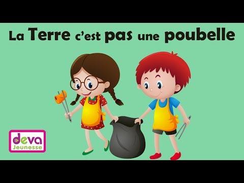 La Terre c'est pas une poubelle (J'apprends l'écologie) ⒹⒺⓋⒶ Education