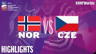 Norway vs. Czech Republic | Highlights | 2019 IIHF Ice Hockey World Championship