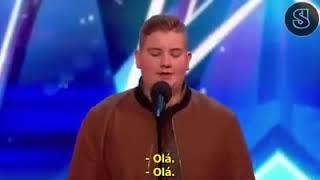 """Got Talent - Menino Impressiona Jurados Cantando """"Aleluia"""""""