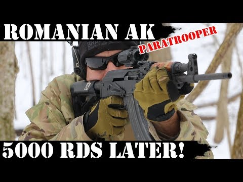 Romanian Paratrooper AK: 5,000 Rounds later!