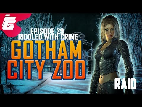 DCUO Episode 29: Gotham City Zoo (Raid) (First Look)