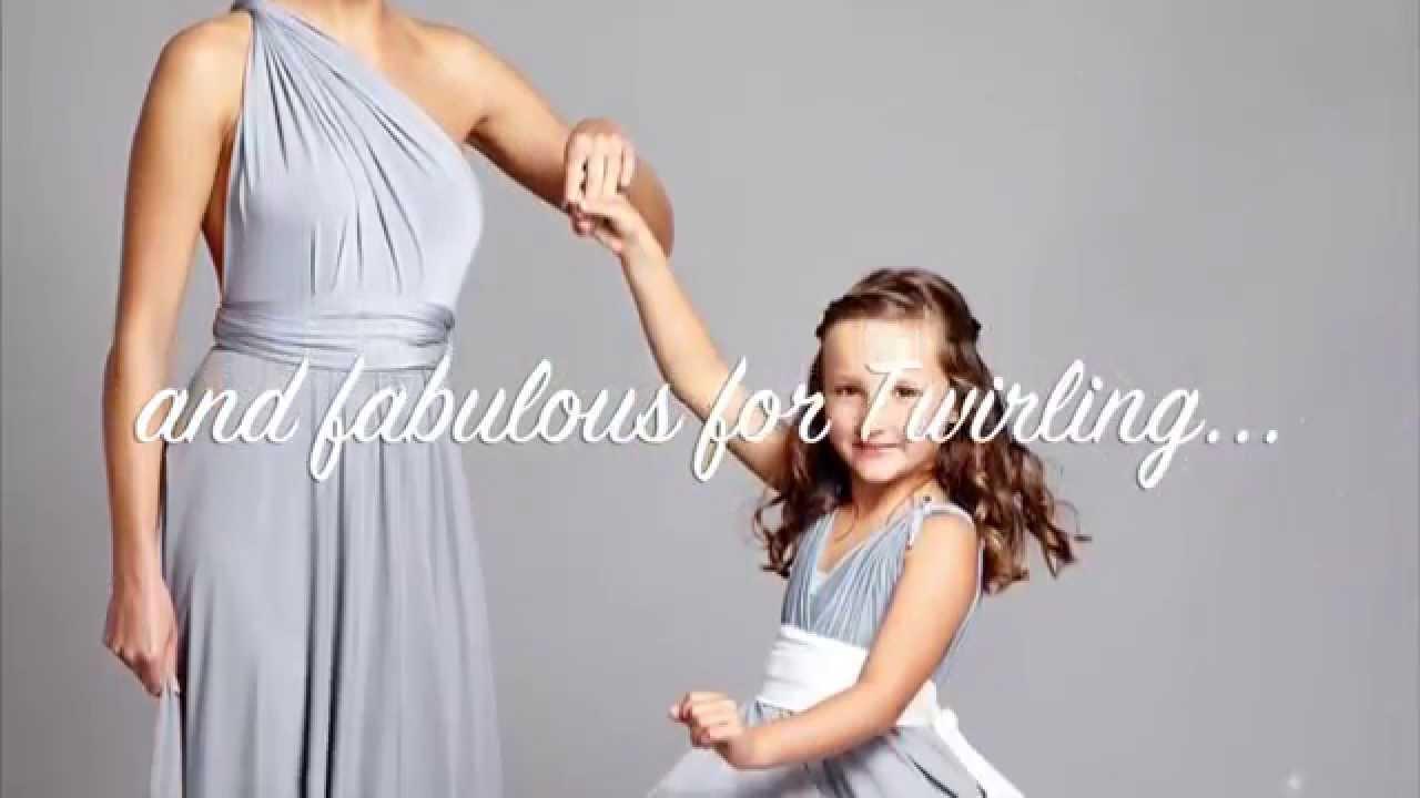 Junior multiway bridesmaids dresses youtube junior multiway bridesmaids dresses ombrellifo Images