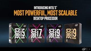 intel i9 7980xe 18 core cpu a 2000 i nuovi intel core x