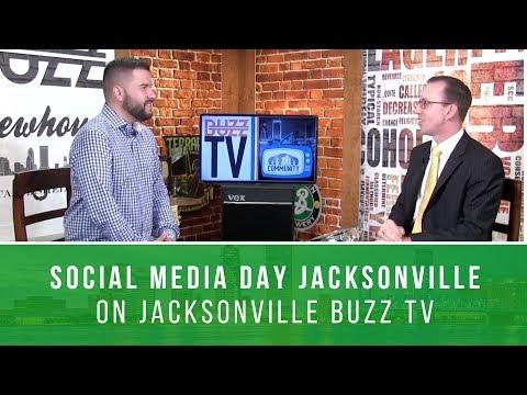 Social Media Day Jacksonville on Jacksonville BUZZ TV