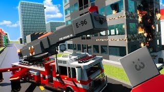 GETTING JOBS AS FIREFIGHTERS IN LEGO CITY! - Brick Rigs Gameplay Roleplay