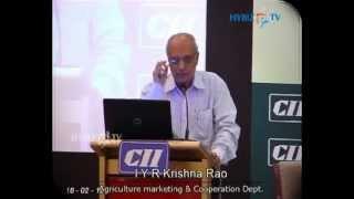 I Y R Krishna Rao, Chief Secretary Govt of Andhra Pradesh - hybiz.tv