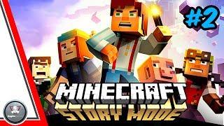 Новые ГЕРОИ ► Minecraft: Story Mode Ep.2