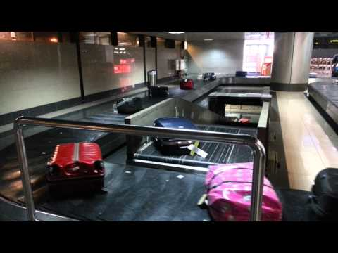 Amazing baggage claim system in Noi bai airport
