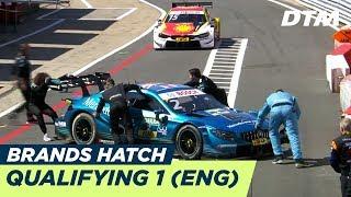 DTM Brands Hatch 2018 - Qualifying Race 1 - RE-LIVE (English)