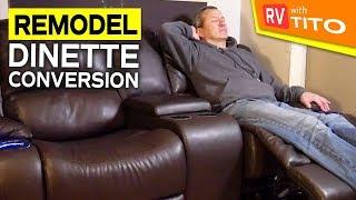RV REMODEL - Recliner Install on RV Slide