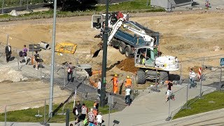 Budowa węzła przesiadkowego na placu Konstytucji 3 Maja w Olsztynie