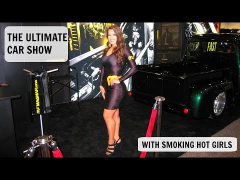 Sema Show 2017 Las Vegas Nevada, Cars, Girls, Trade Show