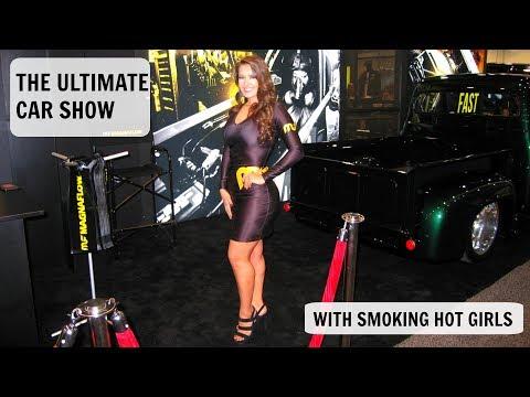 Sema Show 2017 Las Vegas Nevada, Cars, Girls, Trade Show