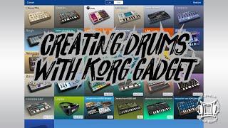 Outta Da Box Episode 2: Creating Drums In Korg Gadget (revised audio)