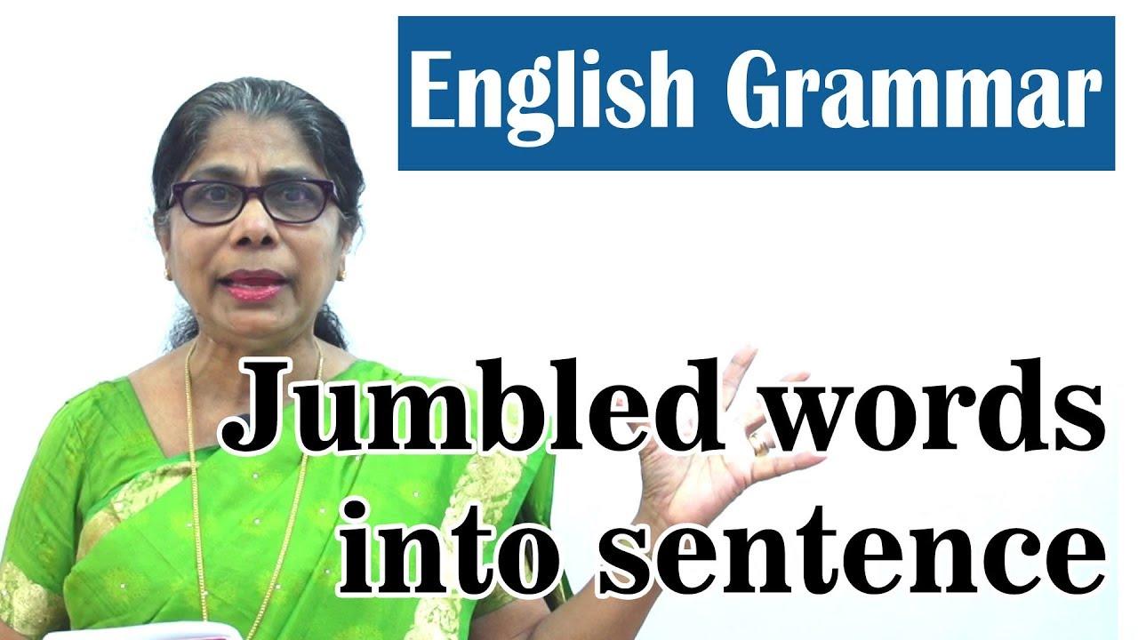Learn English Grammar | Jumbled words into sentence | Basic English Grammar  for kids
