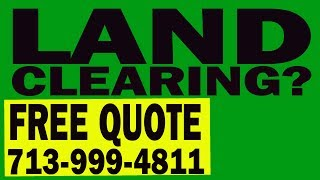 Land Clearing| Excavation|bull Dozer|hydro Ax Mulching|demolition|hydroseeding Services Houston Tx