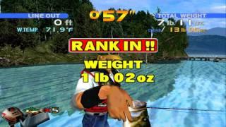 Sega Bass Fishing, Full Arcade Playthrough, Xbox One/360 BC