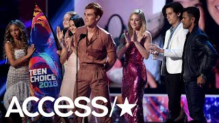 'Riverdale' Dominates The 2018 Teen Choice Awards With 10 Wins At Once | Access