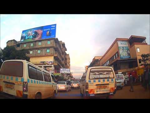 Kampala Drive - Downtown Early Morning Hustle