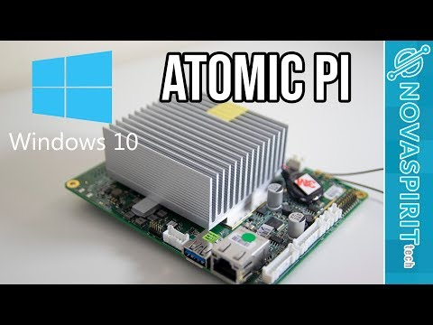 Atomic Pi With Windows 10
