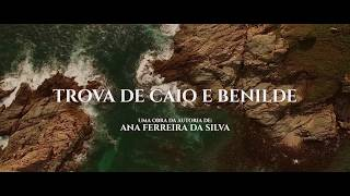 capa de Trova de Caio e Benilde de Ana Ferreira da Silva
