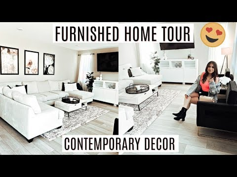 FURNISHED HOUSE TOUR 2019: CONTEMPORARY MODERN DECOR