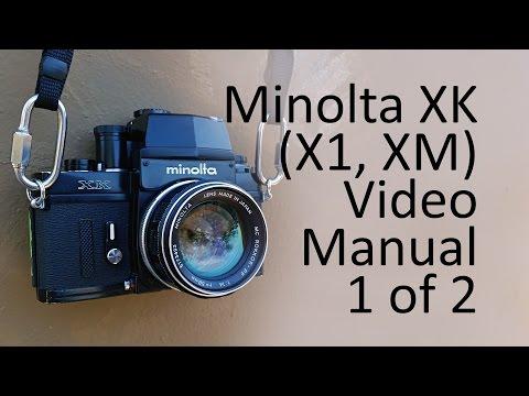 Minolta XK (X1, XM) Video Manual 1 of 2