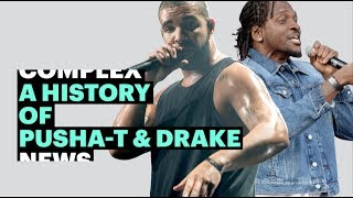 A Timeline of Pusha-T and Drake's Stormy Relationship