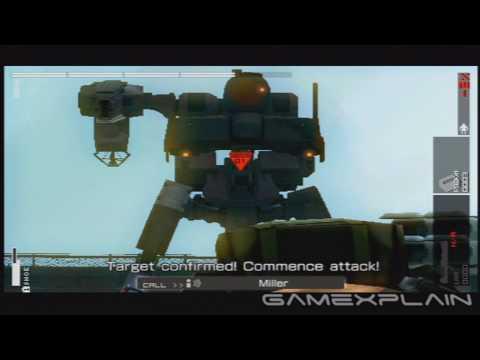 MGS: Peace Walker: Main Ops 33 - ZEKE Battle (Walkthrough)