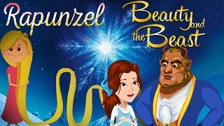 Beauty & The Beast | Rapunzel - Compilation - The Best Collection of Princess Fairy Tales - Cartoon