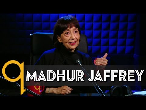"""Godmother"" of Indian Cuisine Madhur Jaffrey in studio q"