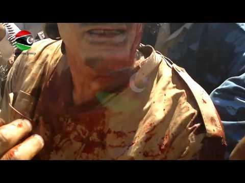 القبض على القذافي حصري | RAW VIDEO: Gaddafi's capture