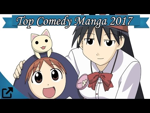 Top 25 Comedy Manga 2017 (All The Time)