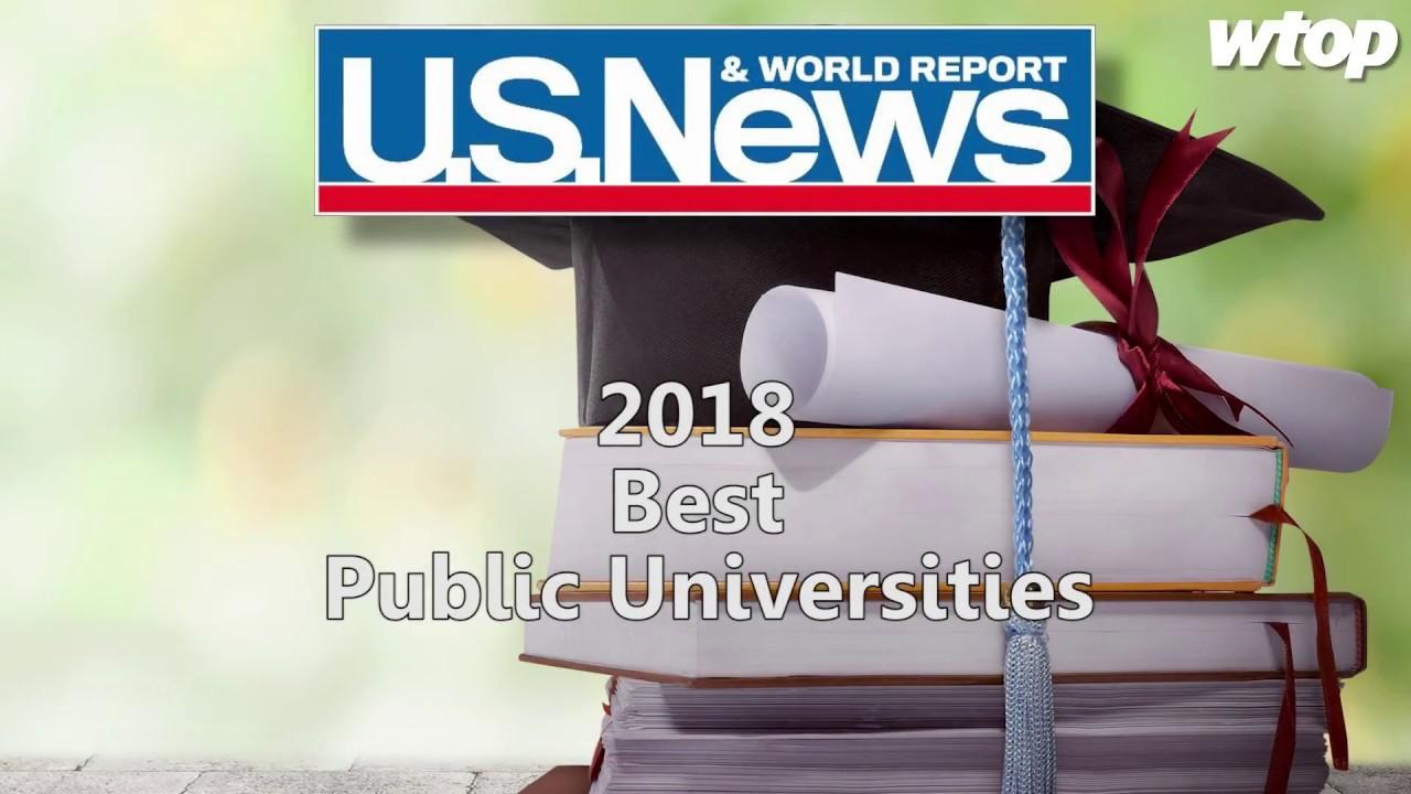 US News & World Report: 2018 Best Public Universities