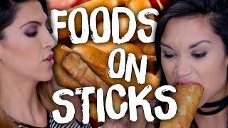 6 Unusual Foods On Sticks (Cheat Day)