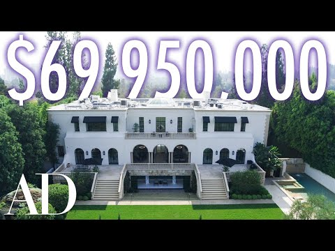 Inside a $69.95M Los Angeles Estate With A Private Beauty Salon | On The Market