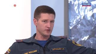 """ГТРК """"Алания"""": специалисты МЧС рассказали о правилах пожарной безопасности в летний период"""