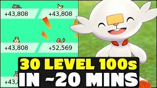 How To Get 30 Pokemon To Level 100 in 20 Minutes - Pokemon Sword and Shield