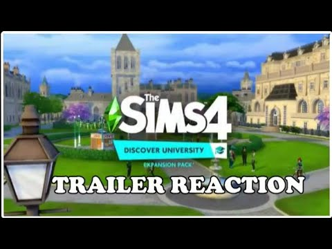 The Sims 4™ Discover University: Official Reveal Trailer | REACTION |