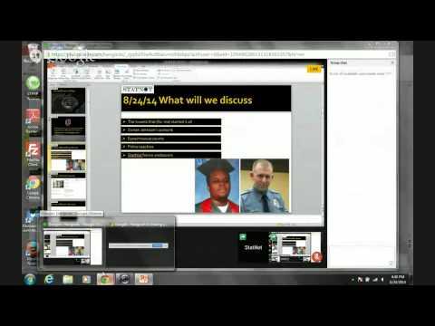 Citizen Reporting, Michael Brown Killing, Police response