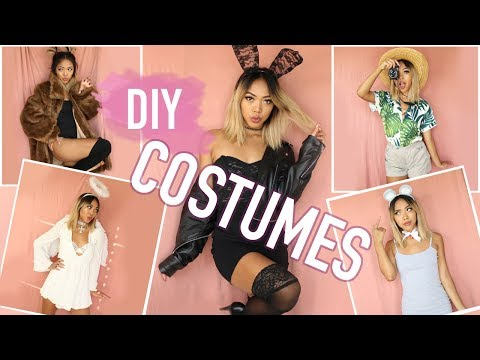 *EASY* 5-MIN HALLOWEEN COSTUMES! How To Turn Your Clothes Into Costumes! | FASHION | Nava Rose