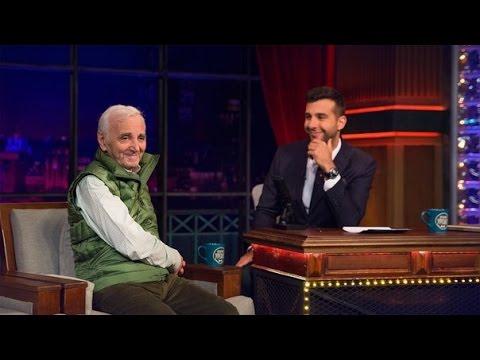 Вечерний Ургант -  Шарль Азнавур. 356 выпуск, 02.10.2014 (Charles Aznavour)