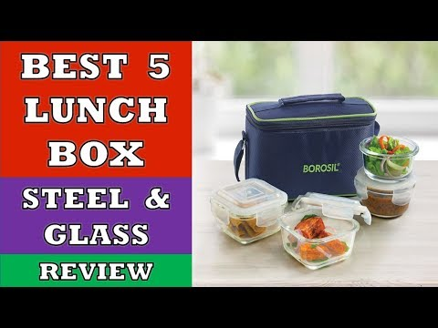 Best 5 Lunch Box In 2020 - Review   Stainless Steel And Glass Lunch Boxes