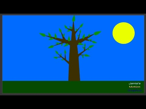 Episode 4 - Create a Growing Tree in After Effects - Jamie's Motion Graphics