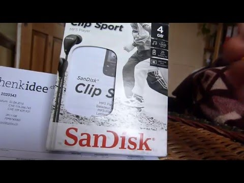 Testbericht SanDisk Clip Sport  Mp3 Player