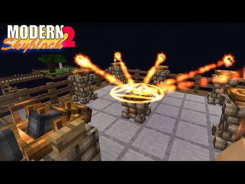 Embers Fusion Alchemy Ritual! - #43 - Modern SkyBlock 2 (Expert Mode)