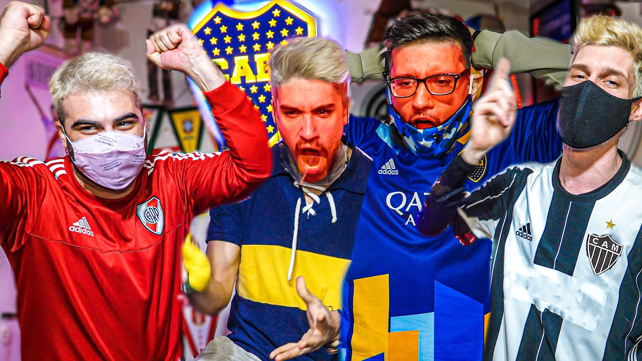 Reacciones de Amigos | Atlético Mineiro vs Boca | Octavos VUELTA Conmebol Libertadores 2021