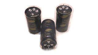 Электролитические конденсаторы SAMSUNG с малым ESR(Покупка и проверка электролитических конденсаторов на 820 мКф Страница продавца указана тут: http://soundbarrel.ru/razno..., 2015-12-05T04:08:13.000Z)