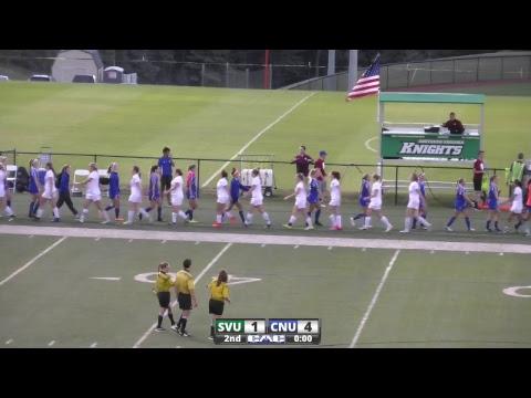 Southern Virginia University Women's Soccer vs Chris. Newport